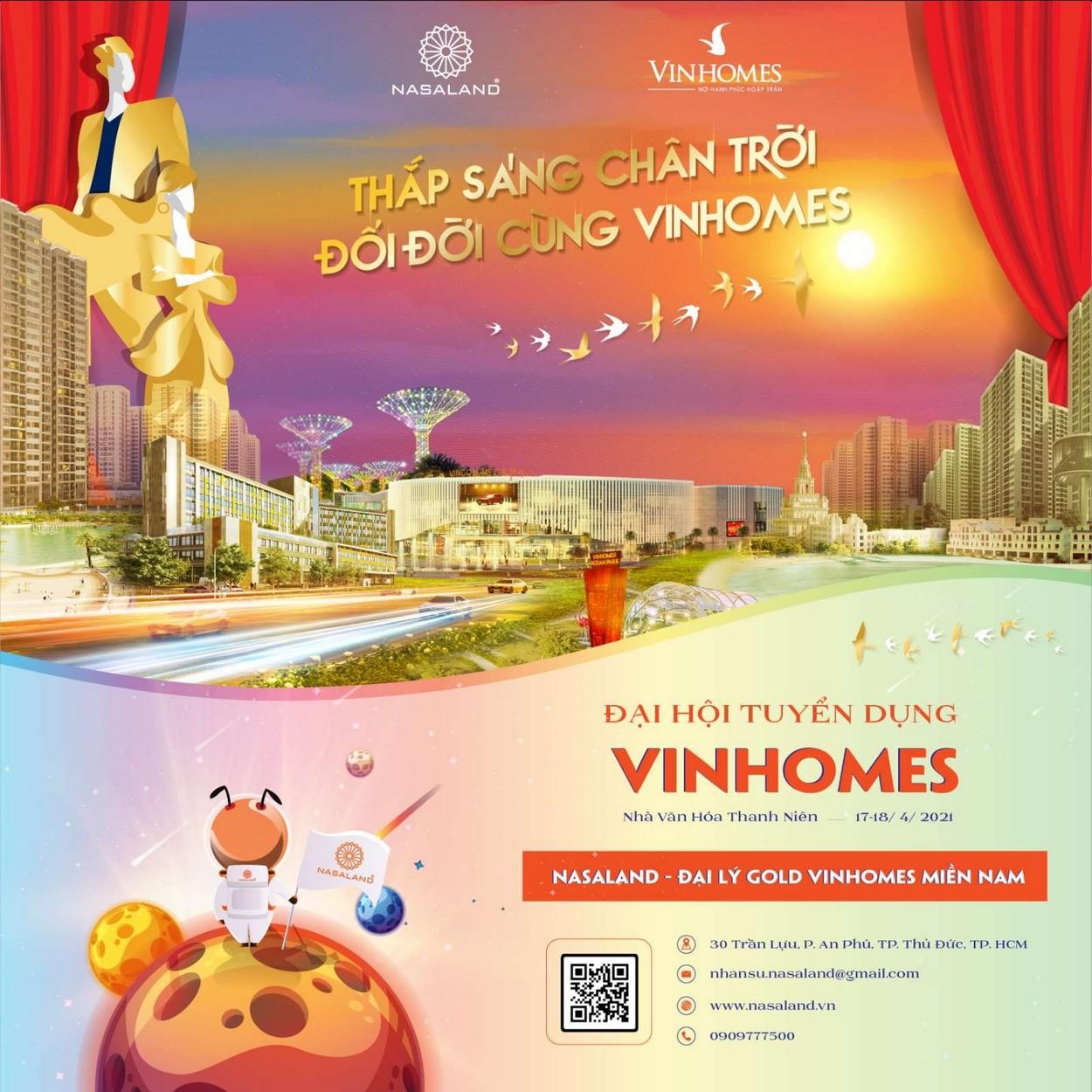 Chào mừng đại hôi tuyển dụng Vinhomes Nasaland