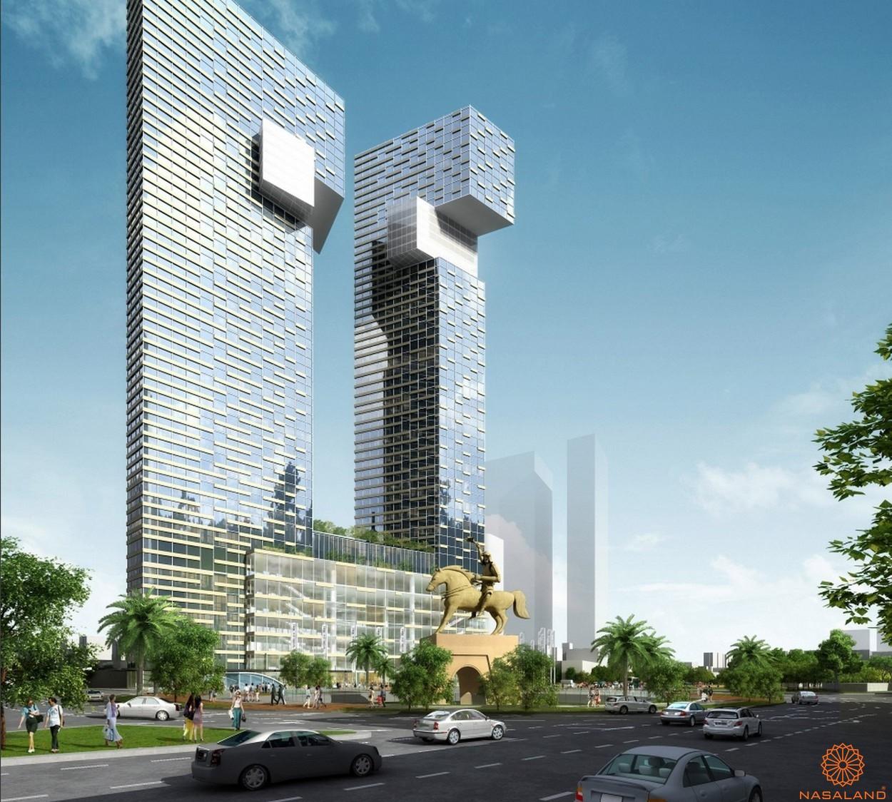 Phối cảnh dự án One Central Saigon quận 1