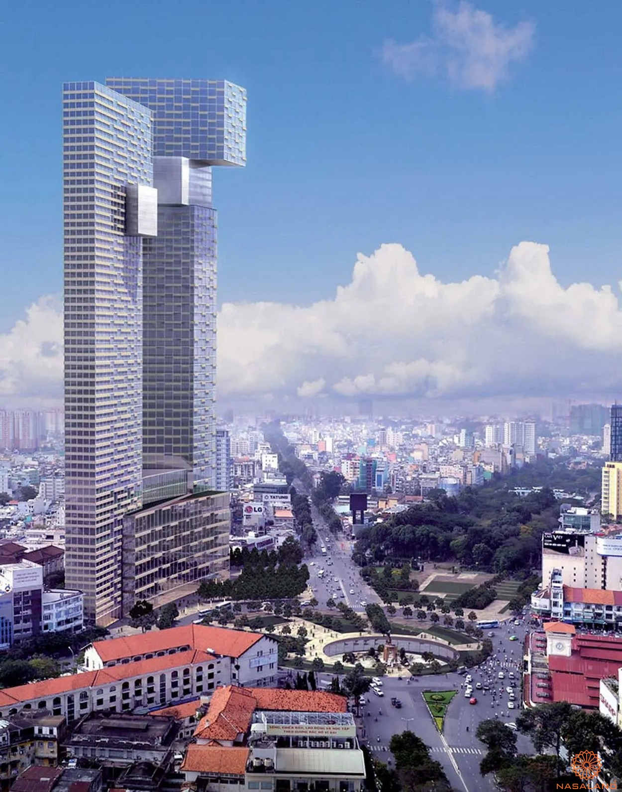 Phối cảnh căn hộ One Central Saigon quận 1