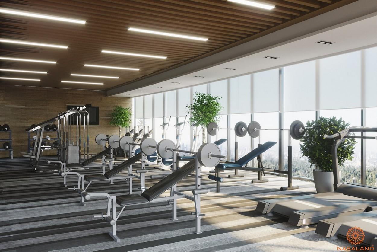 Tiện ích căn hộ One Central Saigon quận 1 - Phòng gym