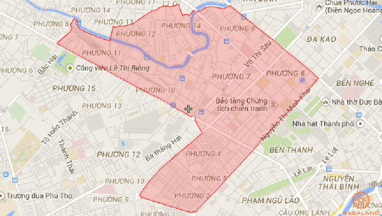 Căn hộ quận 3 - Sở hữu một trong các vị trí đắc địa tại thành phố - vị trí