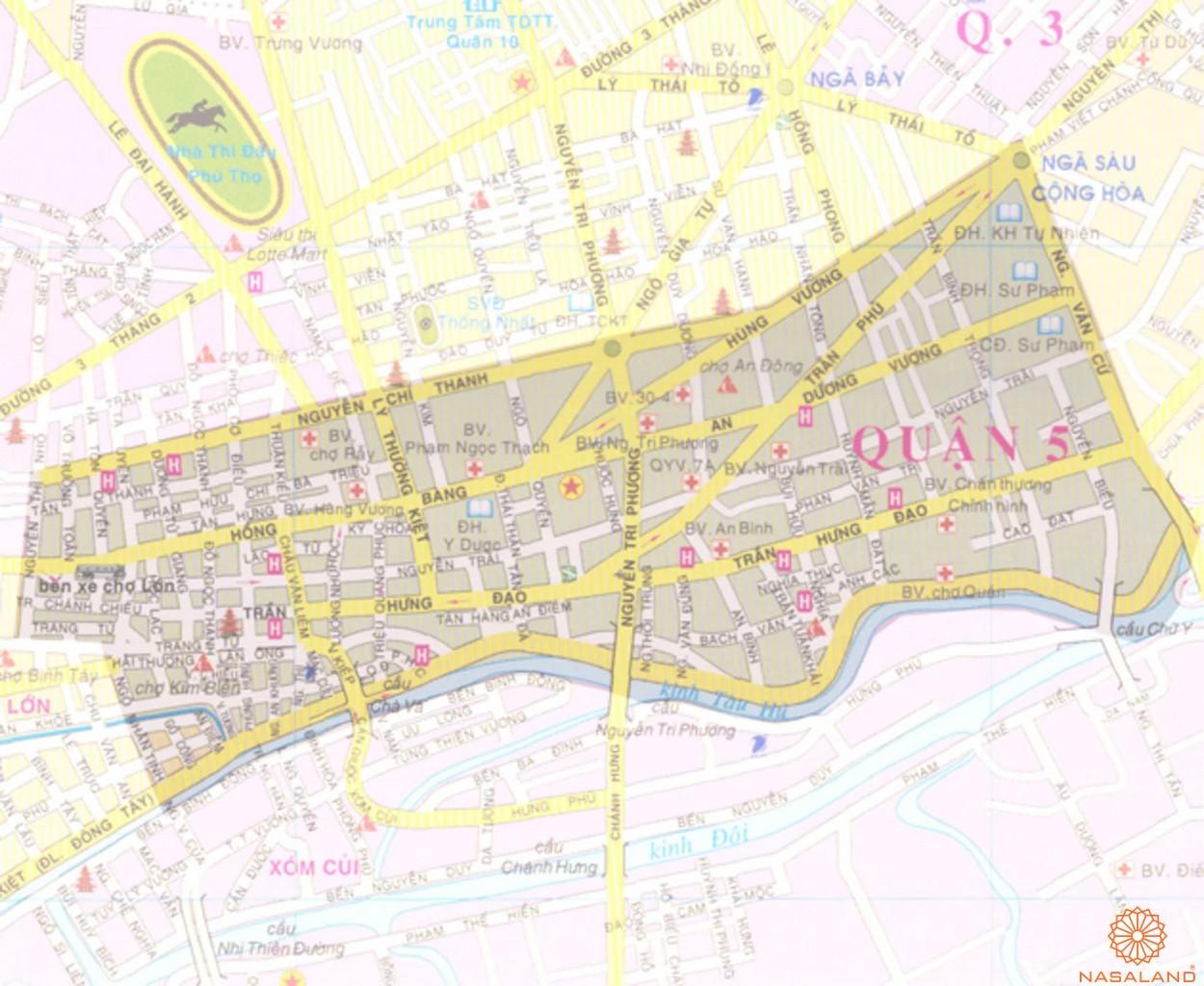 Căn hộ quận 5 - khai phá hệ thống tiện ích hiện hữu bậc nhất - vị trí