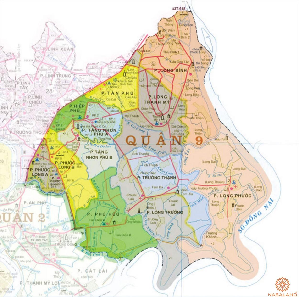 Căn hộ quận 9 - Sở hữu vị trí cận trung tâm tiềm năng trong tương lai - vị trí