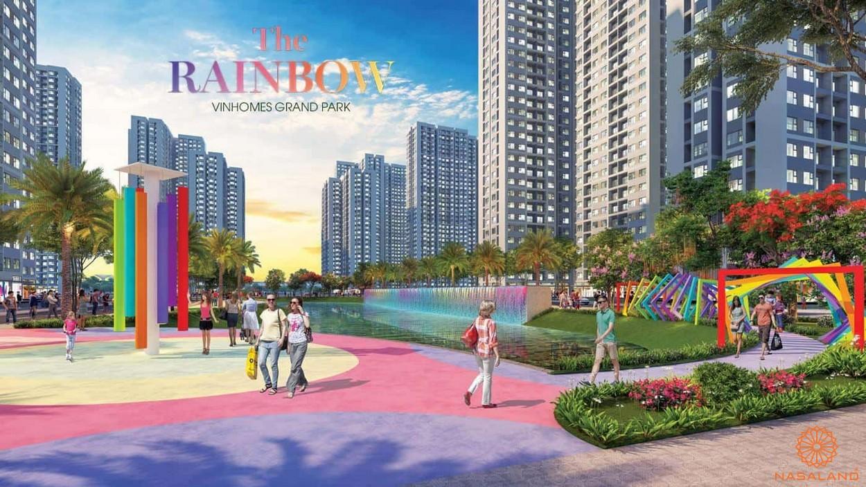 Chung cư quận 9 The Rainbow Vinhomes