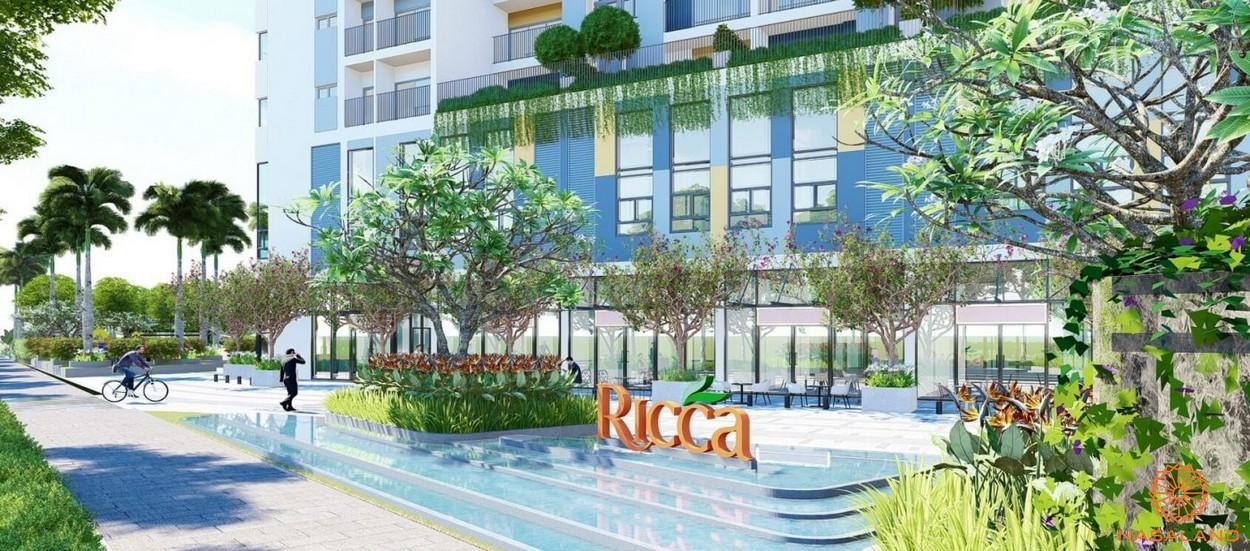 Chung cư quận 9 giá rẻ Ricca