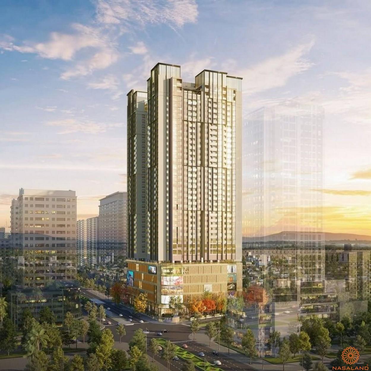 Phối cảnh dự án căn hộ Honas Residence Bình Dương