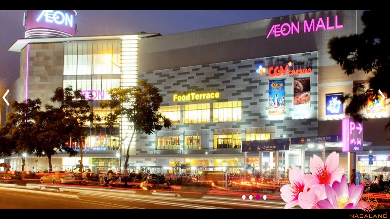 Tiện ích dự án căn hộ Honas Residence Bình Dương - Aeon Mall
