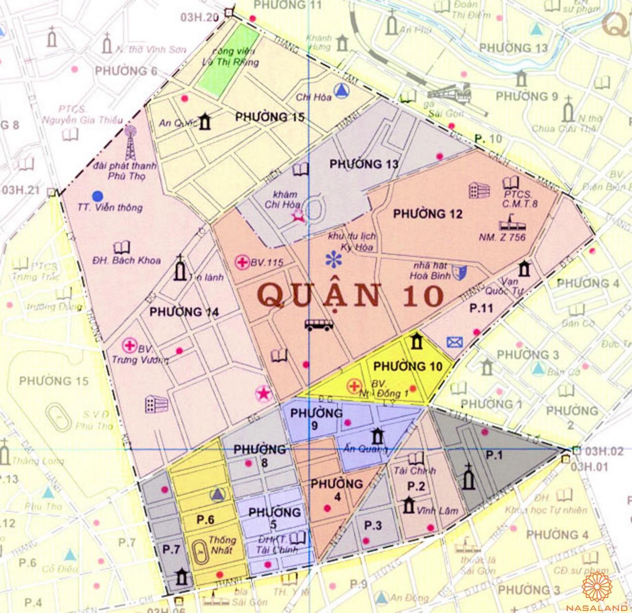 Căn hộ quận 10 - Giải mã thị trường căn hộ đang thu hút giới đầu tư hiện nay - vị trí