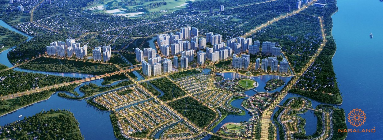 Bảng giá cho thuê căn hộ chung cư vinhomes grand park quận 9 - Phối cảnh tổng thể