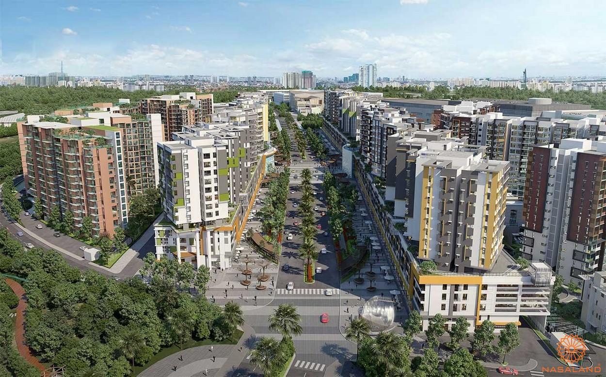 Celadon City của chủ đầu tư Gamuda land