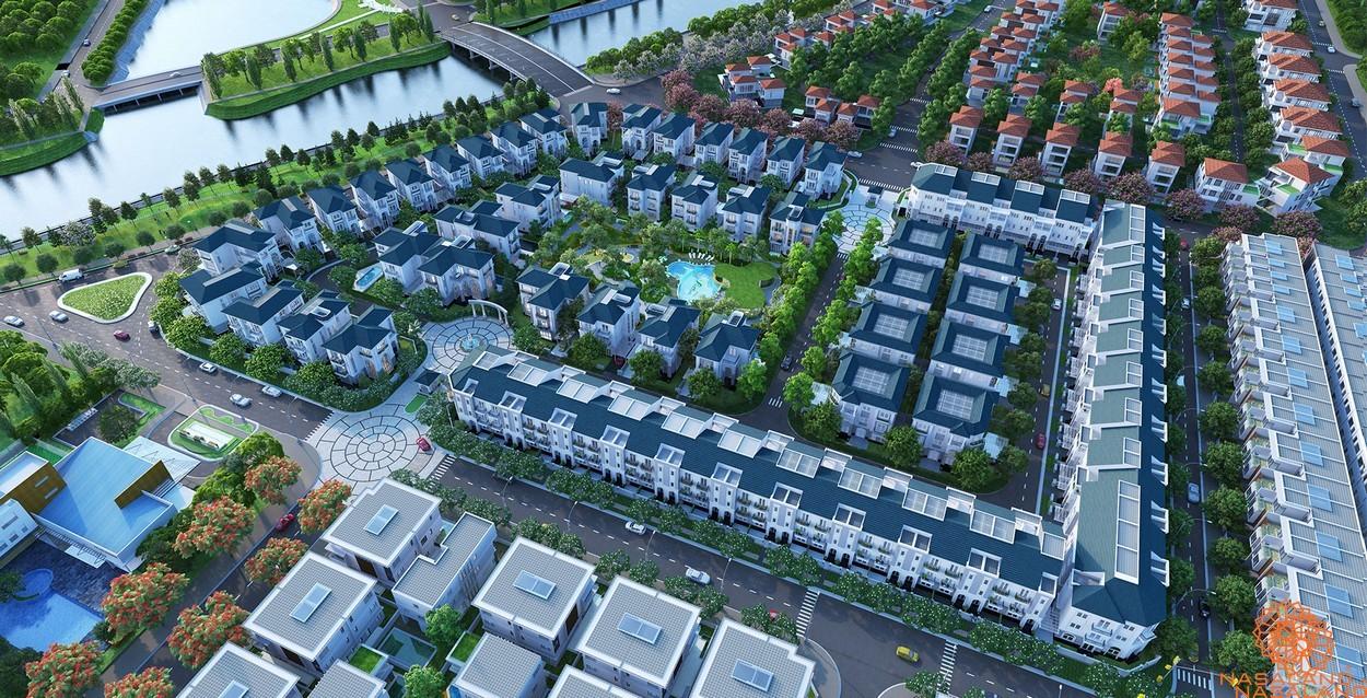 Chủ đầu tư SSC và top các dự án nổi bật nhất 2021 - Dự án Phố Đông Village - Sol Villas