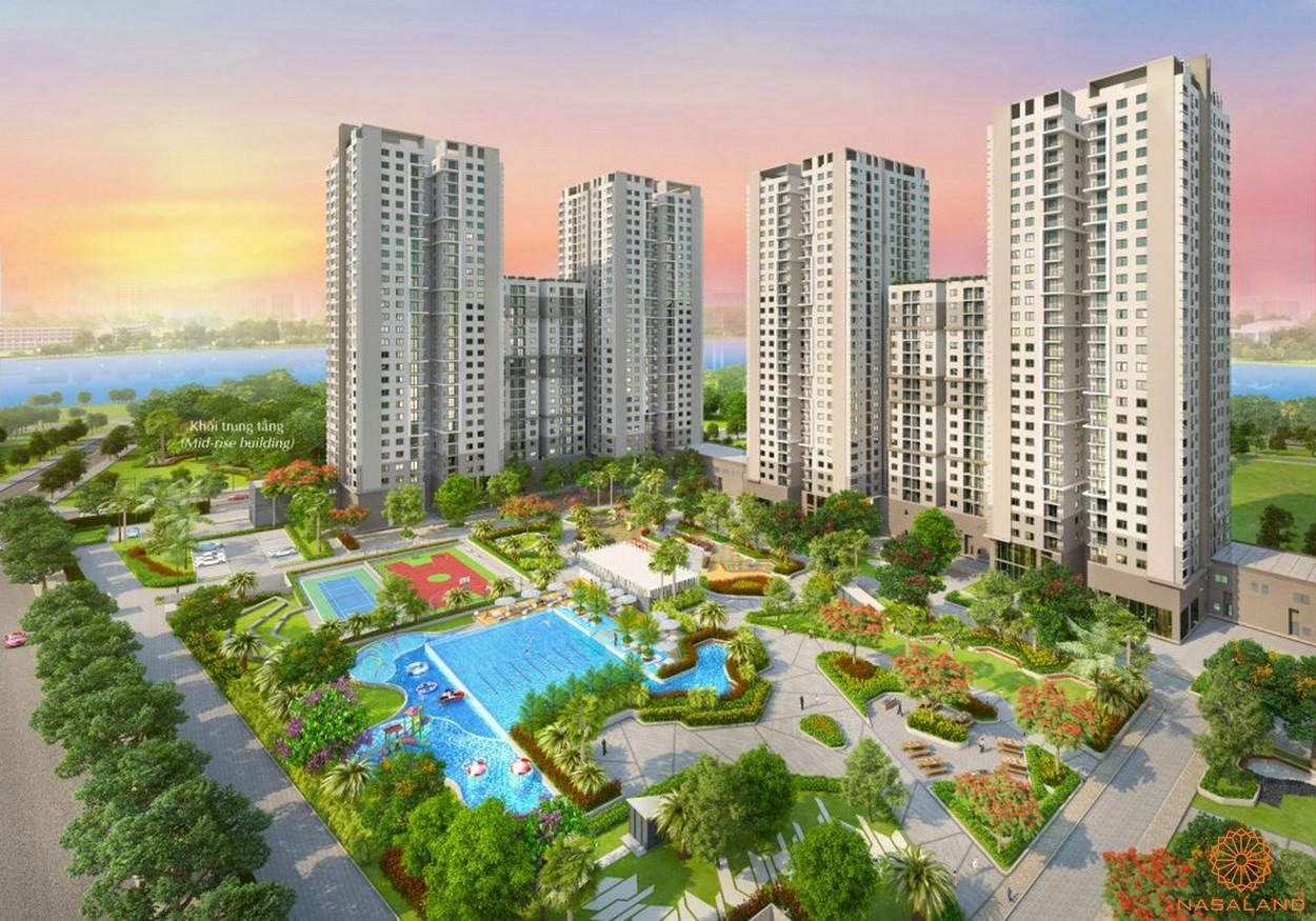 Saigon South Residence của chủ đầu tư Phú Mỹ Hưng