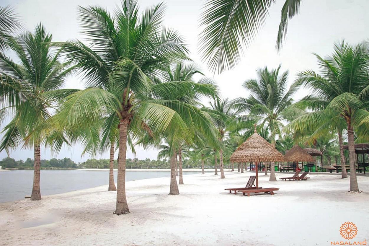 Check in Vinhomes Grand Park quận 9 biển nhân tạo như ở Hawaii - Bờ cát trắng mịn
