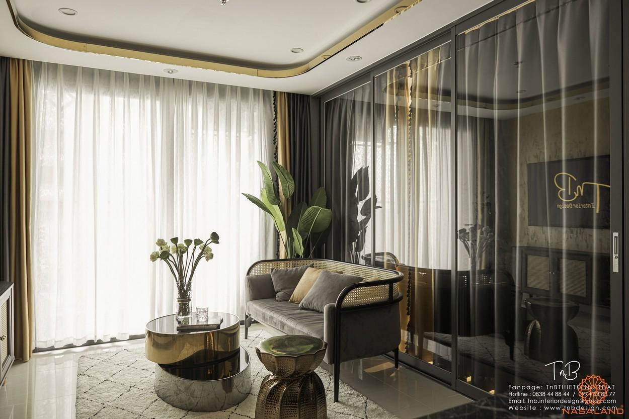 Nhà mẫu Vinhomes Grand Park căn 1 phòng ngủ