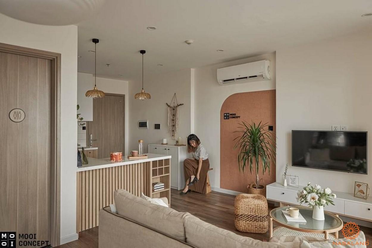 vNhà mẫu Vinhomes Grand Park căn 2 phòng ngủ