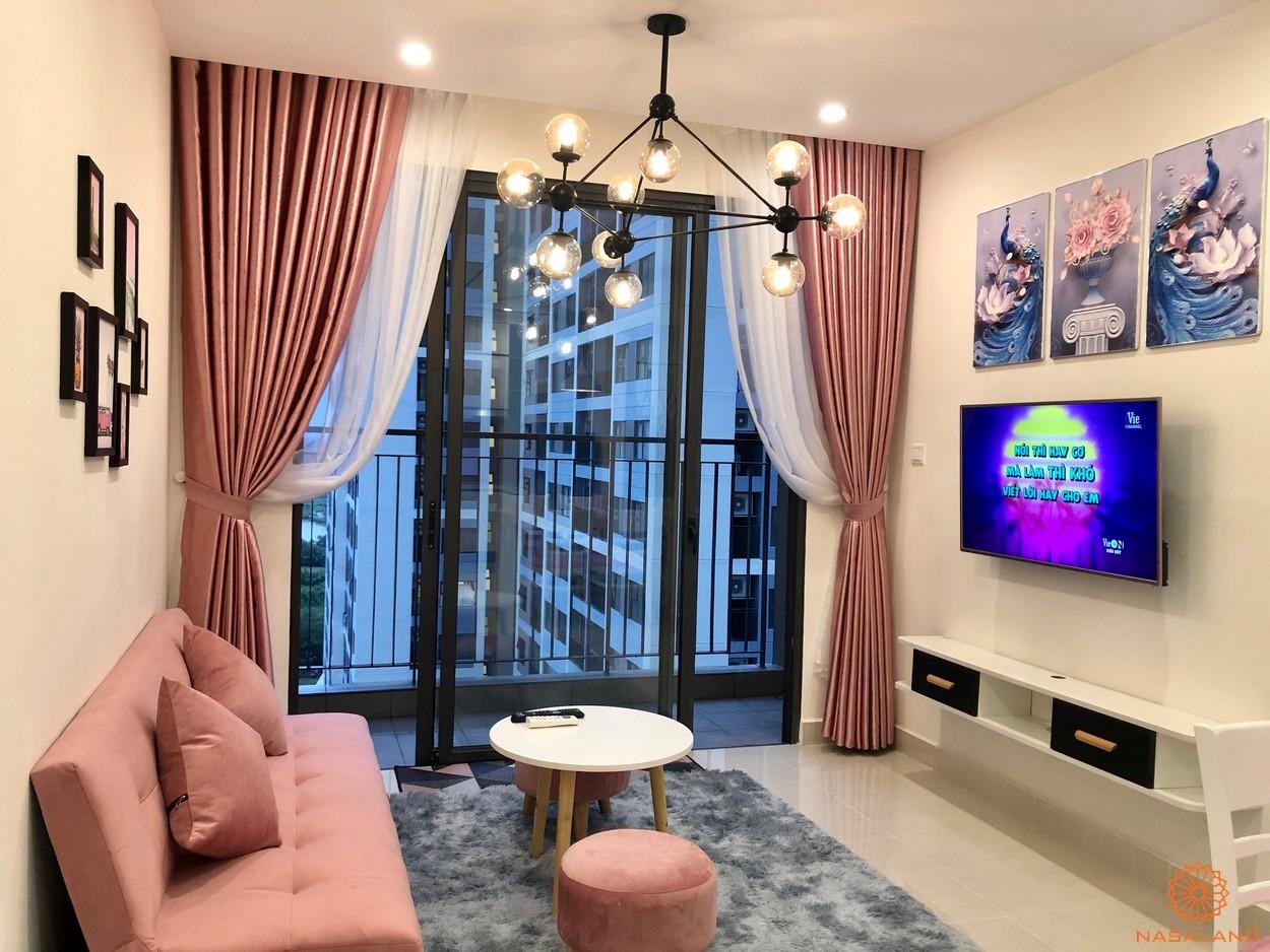 Nhà mẫu Vinhomes Grand Park căn 2 phòng ngủ