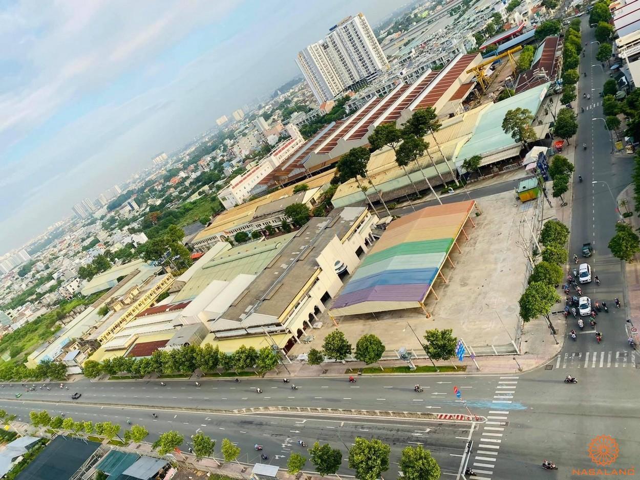 Vị trí căn hộ King Crown City Phạm Văn Đồng