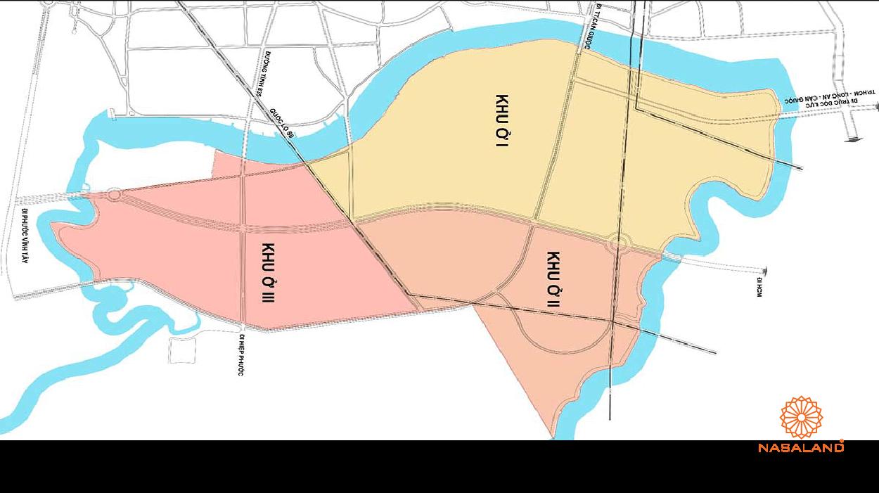 Bản đồ quy hoạch khu đô thị Phước Lại Cần Giuộc Long An