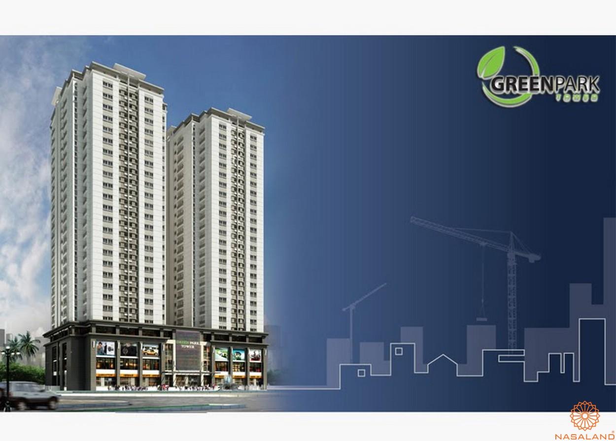 Chủ đầu tư Công ty CP Xây dựng Số 5 - Dự án Green Park Tower