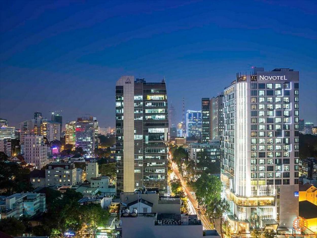 Chủ đầu tư Invesco - Dự án khách sạn Novotel Sài Gòn Centre