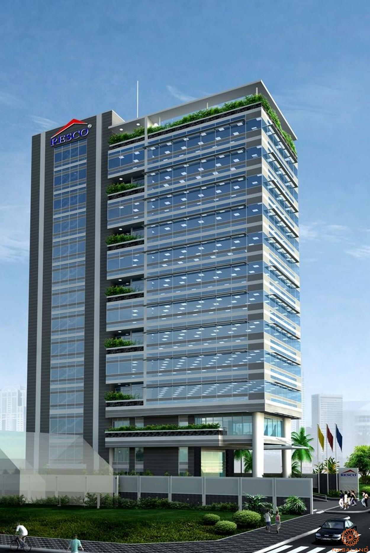 Chủ đầu tư Resco - Dự án cao ốc Resco 123 Nguyễn Đình Chiểu