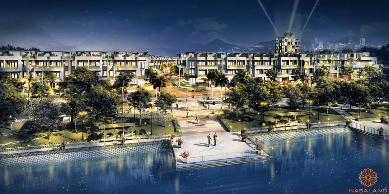 Chủ đầu tư Seaholdings - Phối cảnh bên sông dự án The Pearl Riverside
