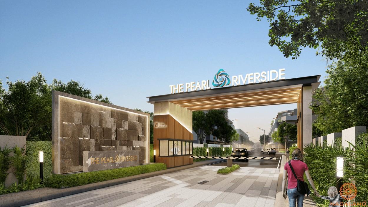 Chủ đầu tư Seaholdings - Phối cảnh cổng chào dự án The Pearl Riverside
