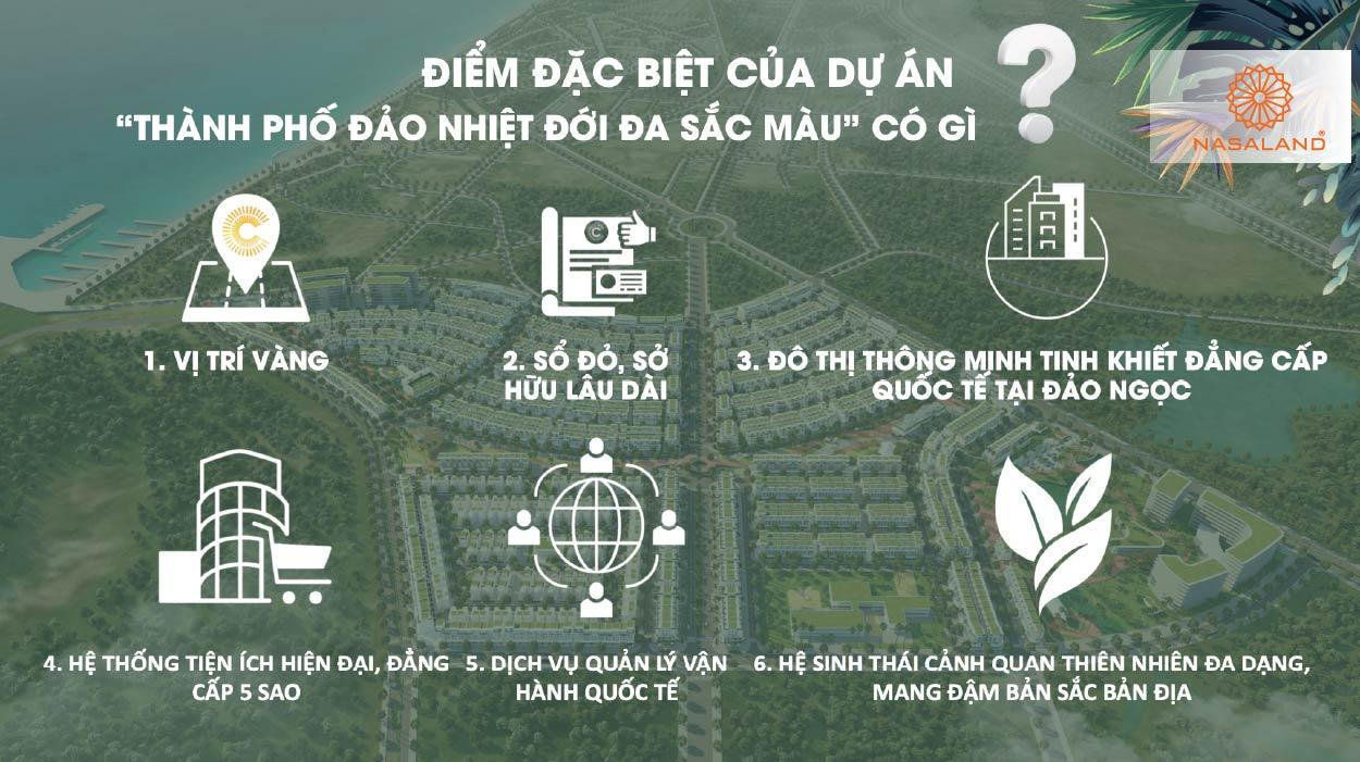 Điểm nổi bật của Meyhomes Capital Phú Quốc