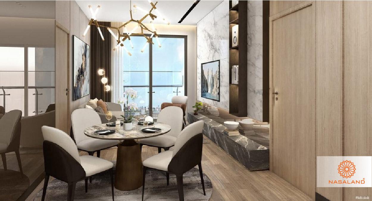 thiết kế nội thất căn hộ masteri west heights