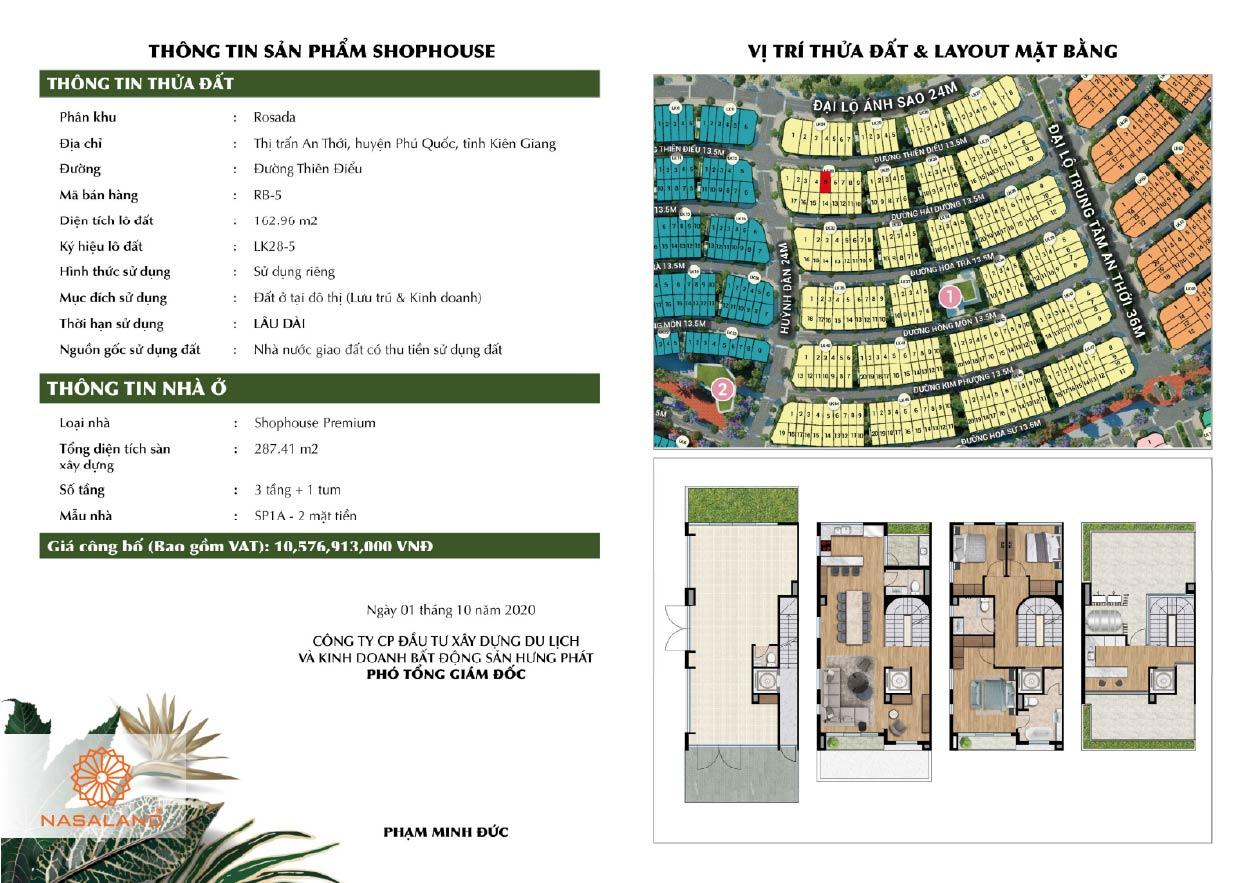 Thông tin sản phẩm Meyhomes Capital Phú Quốc