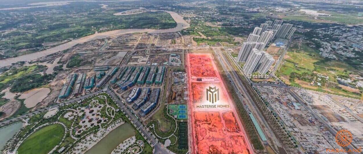 Giá bán Masteri Centre Point - Hình ảnh thực tế vị trí dự án