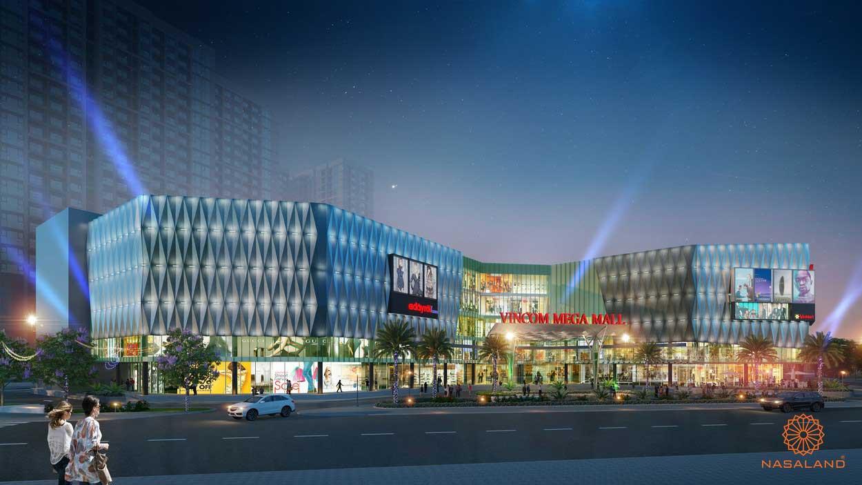 Trung tâm thương mại Vincom Mega Mall tại quần thể khu đô thị Vinhomes quận 9